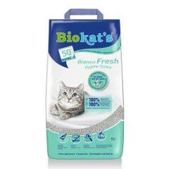 Наполнитель туалета для кошек Biokat's Bianco Fresh 10 кг (бентонитовый)