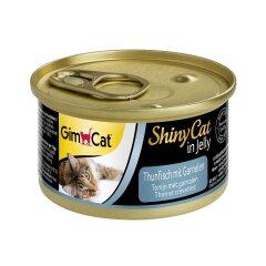 Влажный корм для кошек GimCat Shiny Cat 70 г (тунец и креветки)