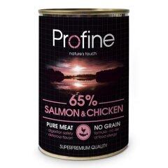 Влажный корм для собак Profine Salmon and Chicken 400 г (лосось и курица)