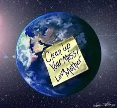 Plastic-Free July Eco-Challenge, Day 20: The Earth is Our Home…Clean Up Your Room