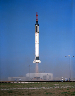 Launch of the Mercury-Redstone 2