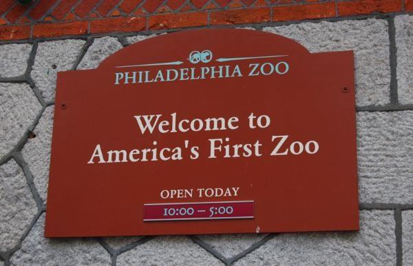 Philadelphia Zoo sign (Image: waymarking.com)