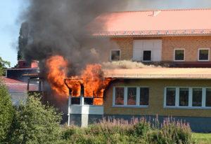 Brand i Kramforsskolan