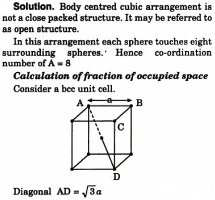NCERT CBSE Standard 12 Solid State Chapter 1 Physical