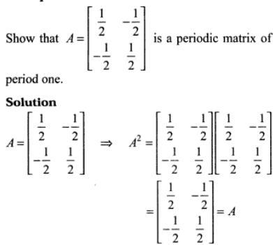 IIT JEE main and Advanced Matrix Algebra Cayley Hamilton