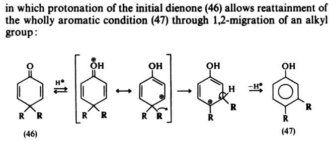 Pinacol Pinacolone Retropinacol Dienone Phenol