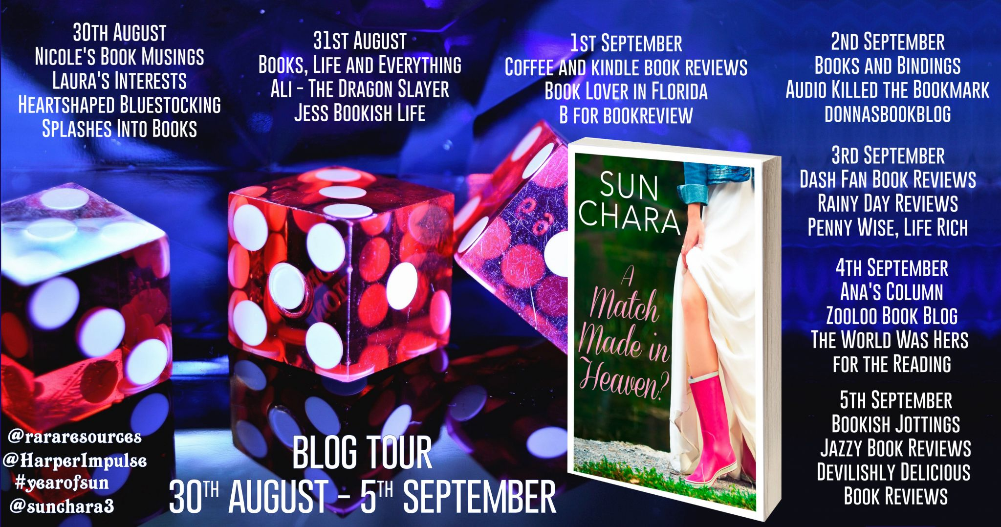 #BookReview of A Match Made in Heaven? by Sun Chara @sunchara3 @HarperImpulse @rararesources #giveaway