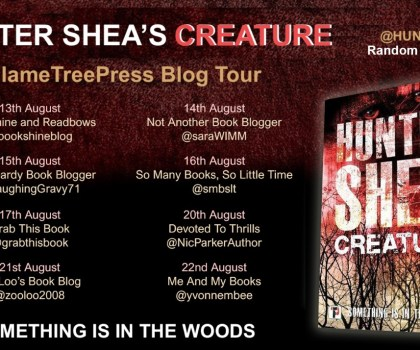 #BookReview of Creature by Hunter Shea @huntershea1 @annecater @flametreepress #randomthingtours