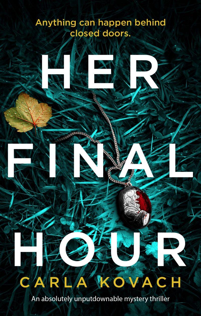 #BookReview of Her Final Hour by Carla Kovach @CKovachAuthor @bookouture @nholten40 #HerFinalHour:detectiveGinaHarteBook2 #NetGalley