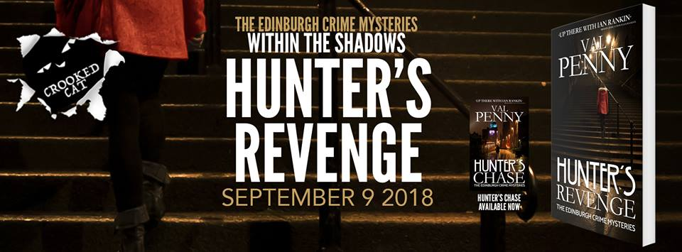 #BookReview of Hunter's Revenge by Val Penny @valeriepenny @crookedcatbooks @rararesources