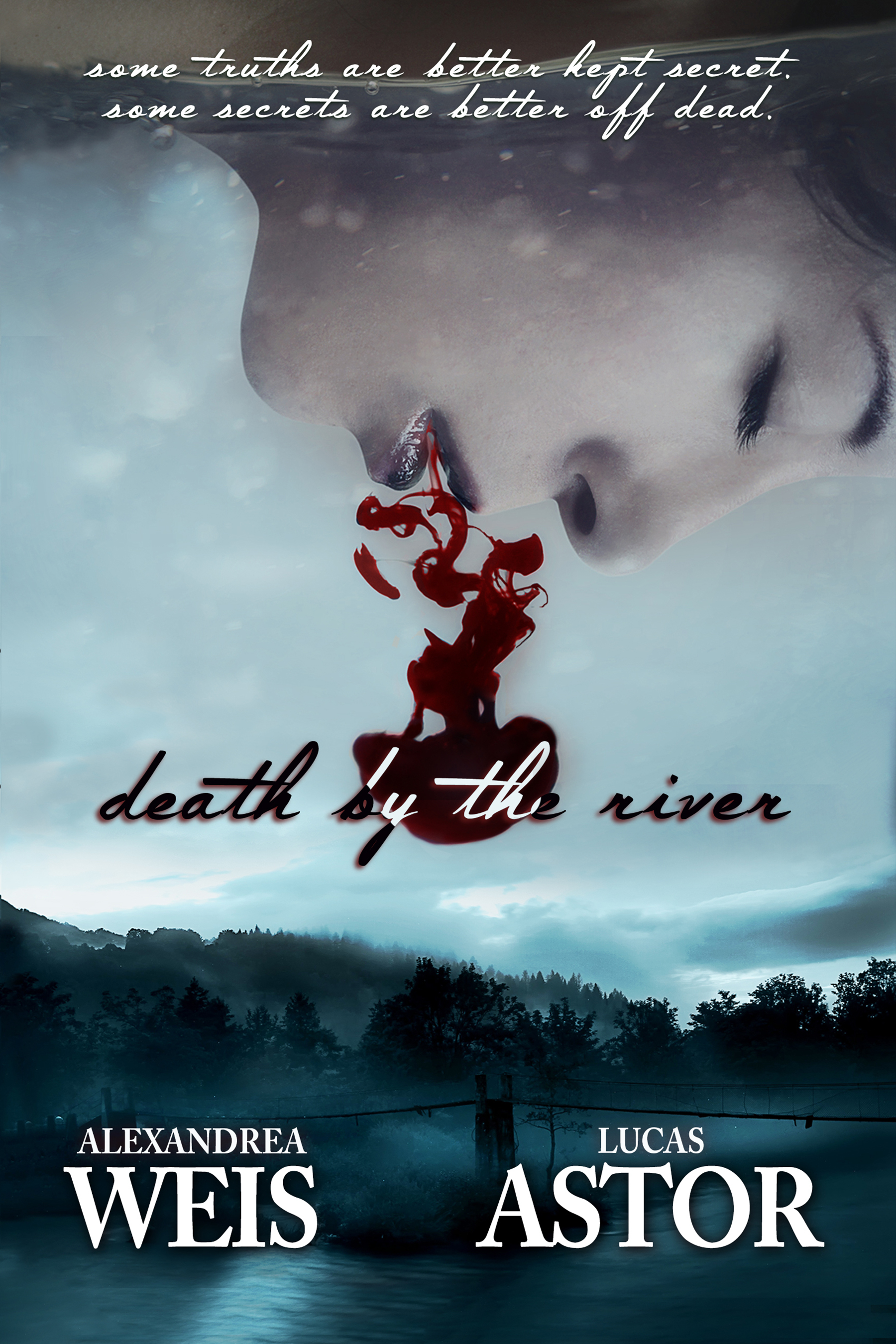 #BookReview and #Excerpt of Death by the River by Alexandrea Weis and Lucas Astor @alexandreaweis @CherylMash @partnersincr1me