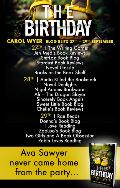 #BookReview of The Birthday by Carol Wyer @carolewyer @bookouture @kimthebookworm