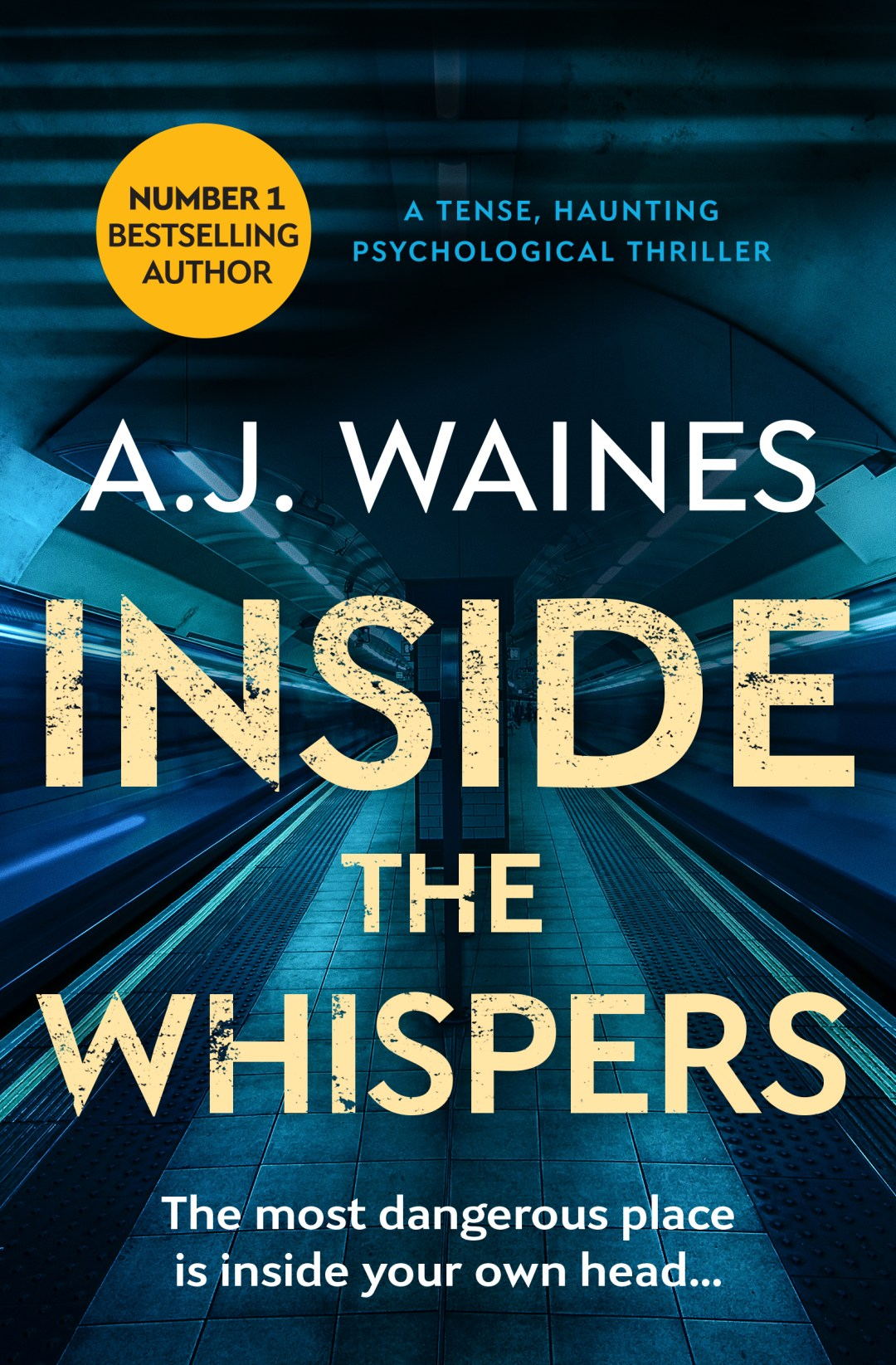#BookReview of Inside the Whispers by AJ Waines @ajwaines @bloodhoundbook