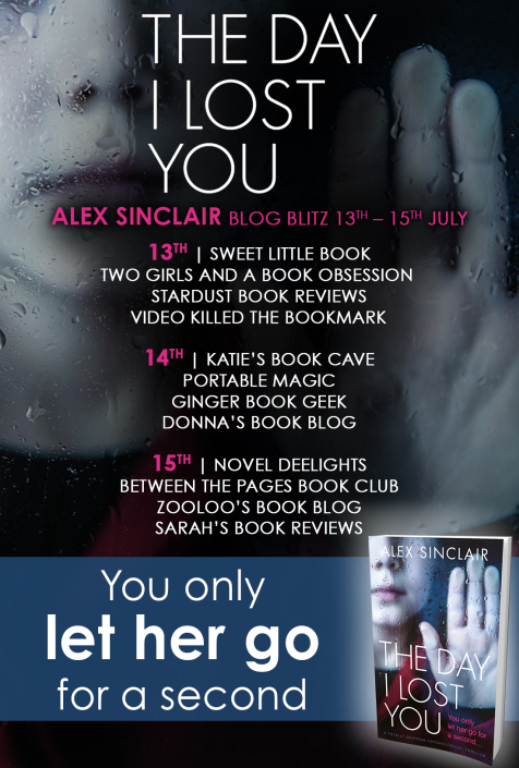 #BookReview of The Day I lost you by Alex Sinclair @ASinclairAuthor @nholten40 @bookouture