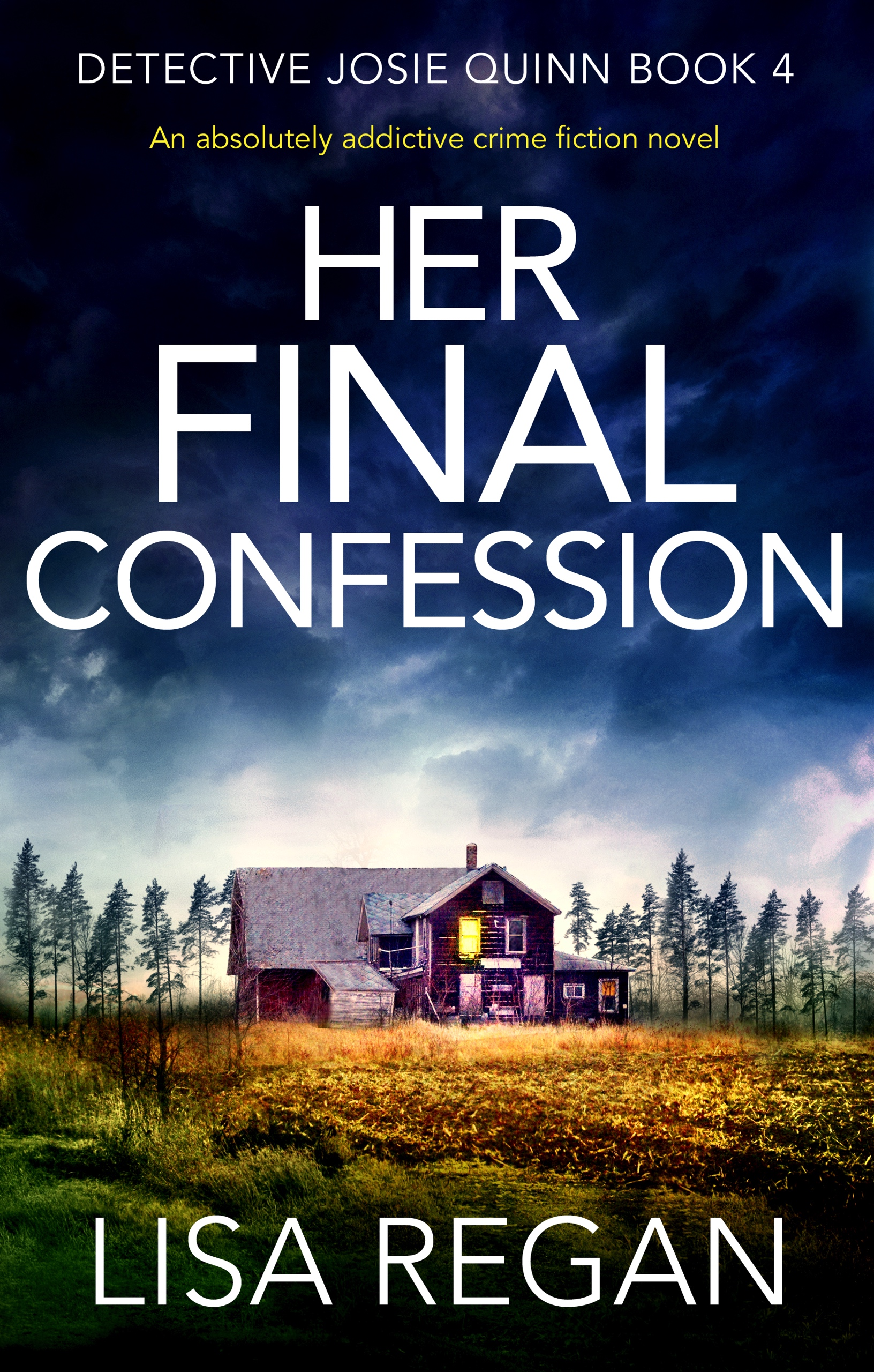 #BookReview of Her Final Confession by Lisa Regan @Lisalregan @nholten40 @bookouture