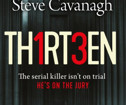#BookReview of Thirteen by Steve Cavanagh blog tour @Lauren_BooksPR @SSCav @orionbooks @Tr4cyF3nt0n#thatbookthathook