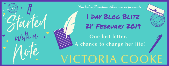 #BookReview of It Started with a note by Victoria Cooke @VictoriaCooke10 @rararesources #giveaway