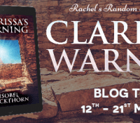 #BookReview of Clarissa's Warning by Isobel Blackthorn @IBlackthorn @rararesources