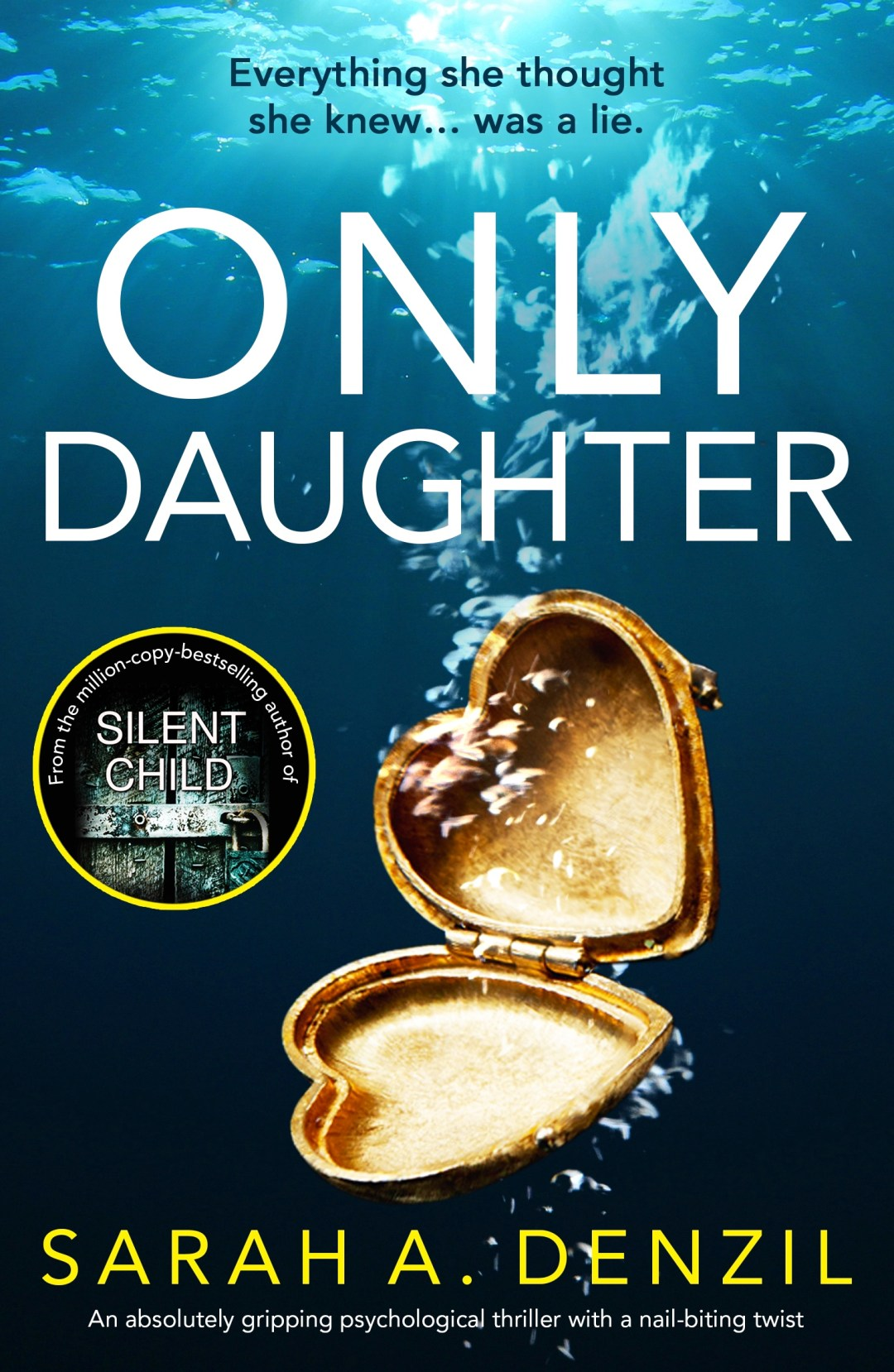 #BookBlitz of Only Daughter by Sarah Denzil @sarahdenzil @bookouture @nholten40 #booksontour