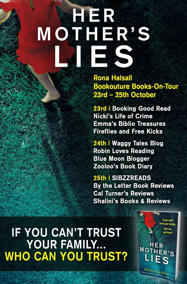 #BookReview of Her Mother Lies by Rona Halsall @RonaHalsallAuth @Nholten40 @Bookouture #Netgalley #HerMotherLies #BooksonTour