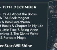 #BookReview of When Stars will Shine by Emma Mitchell @emmamitchellfpr  Louise Jensen @fab_fiction Alex Kane @AlexKaneWriter Owen Mullins @OwenMullen6 @BakerPromo  #WhenStarsWillShine #helptheheroes