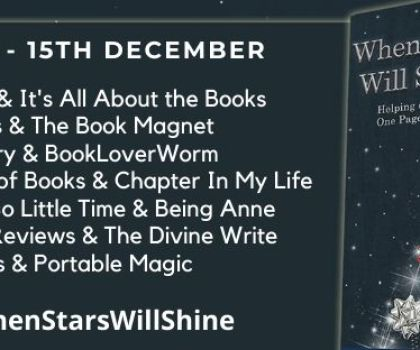 #BookReview of When Stars will Shine by Emma Mitchell @emmamitchellfpr  Louise Jensen @fab_fiction Alex Kane @AlexKaneWriter Owen Mullins @OwenMullen6 @BakerPromo  #WhenStarsWillShine #helptheheroes