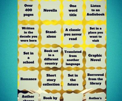 Reading Bingo 2020