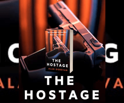 The Hostage by Alan Gorevan @AlanGorevan #BookReview