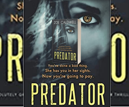 Predator by Zoe Caldwell @zoejcaldwell @bloodhoundbooks #BookReview #PublicationDay