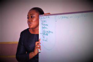 RDC : #JobFormation, Isabelle Ebambi au service des jeunes 2