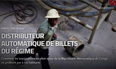 RDC : Rapport Global Witness, l'ASADHO responsabilise le Gouvernement, l'ITIE et la Gécamines !