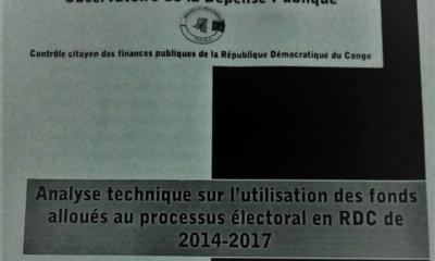RDC : Processus électoral, plus de 170 millions USD décaissés par des partenaires au centre d'une controverse ! 9