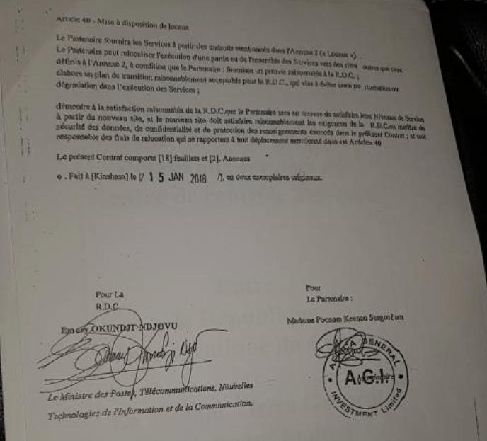RDC : Emery Okundji engage l'Etat dans un contrat soupçonné de « léonin » ! 2