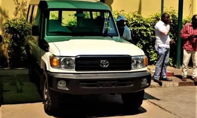 RDC : règlement d'un sinistre, SONAS remet un véhicule neuf à la DGDA ! 3
