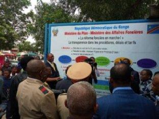 RDC : l'ANAPI entame l'affichage public de la procédure de transfert de propriété à Kinshasa 2