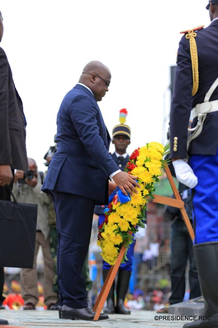 RDC : le chef de l'Etat remet des allocations de fin de carrière à 267 soldats 2