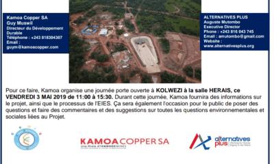 RDC : Kamoa, journée portes ouvertes sur l'impact environnemental ce 3 mai 2019 19