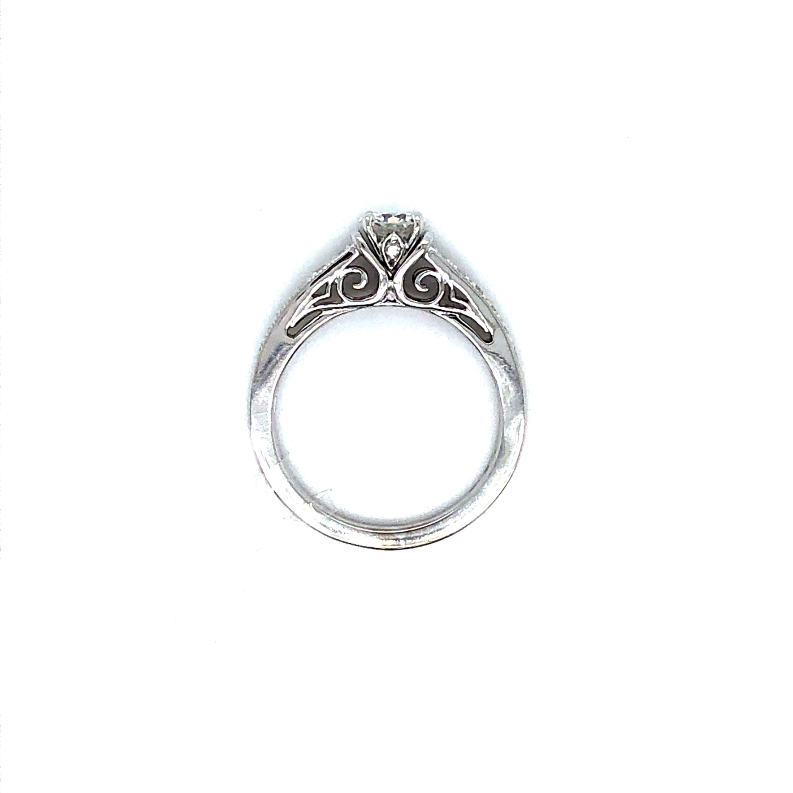Diamond Semi-Mount Ring 001-140-00381 14KW Wood Dale