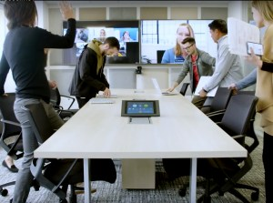 virtual office meeting rooms conference messy feature simple screen