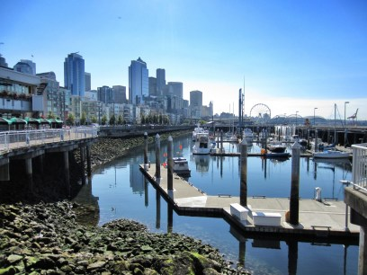 View south from Bell Harbor Marina