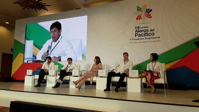 Panel de agenda digital en la V Cumbre Empresarial de la Alianza del Pacifico1