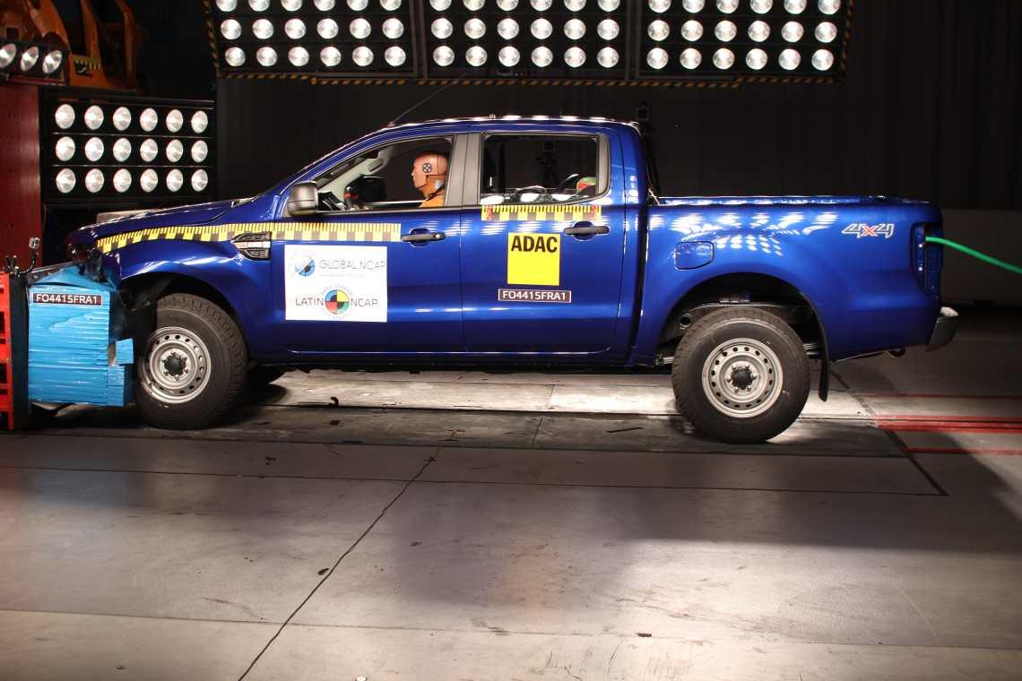 New Ford Ranger mejora su calificación en Latin NCAP.JPG