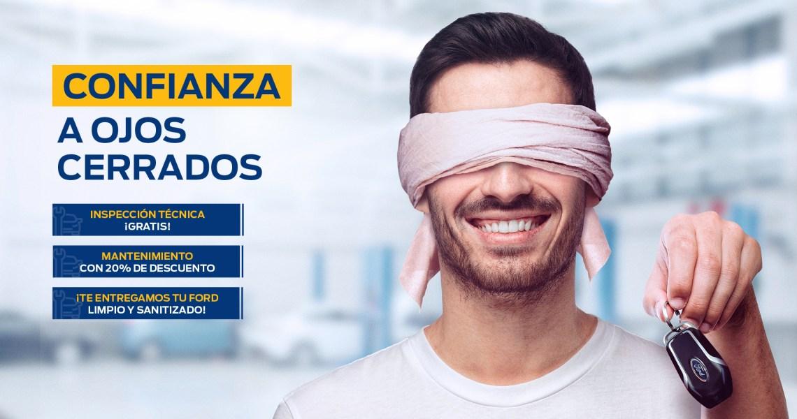 Ford Perú - Confianza a Ojos Cerrados
