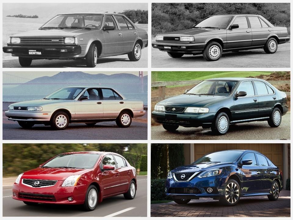 Nissan Sentra  La historia de ocho generaciones que continúan d