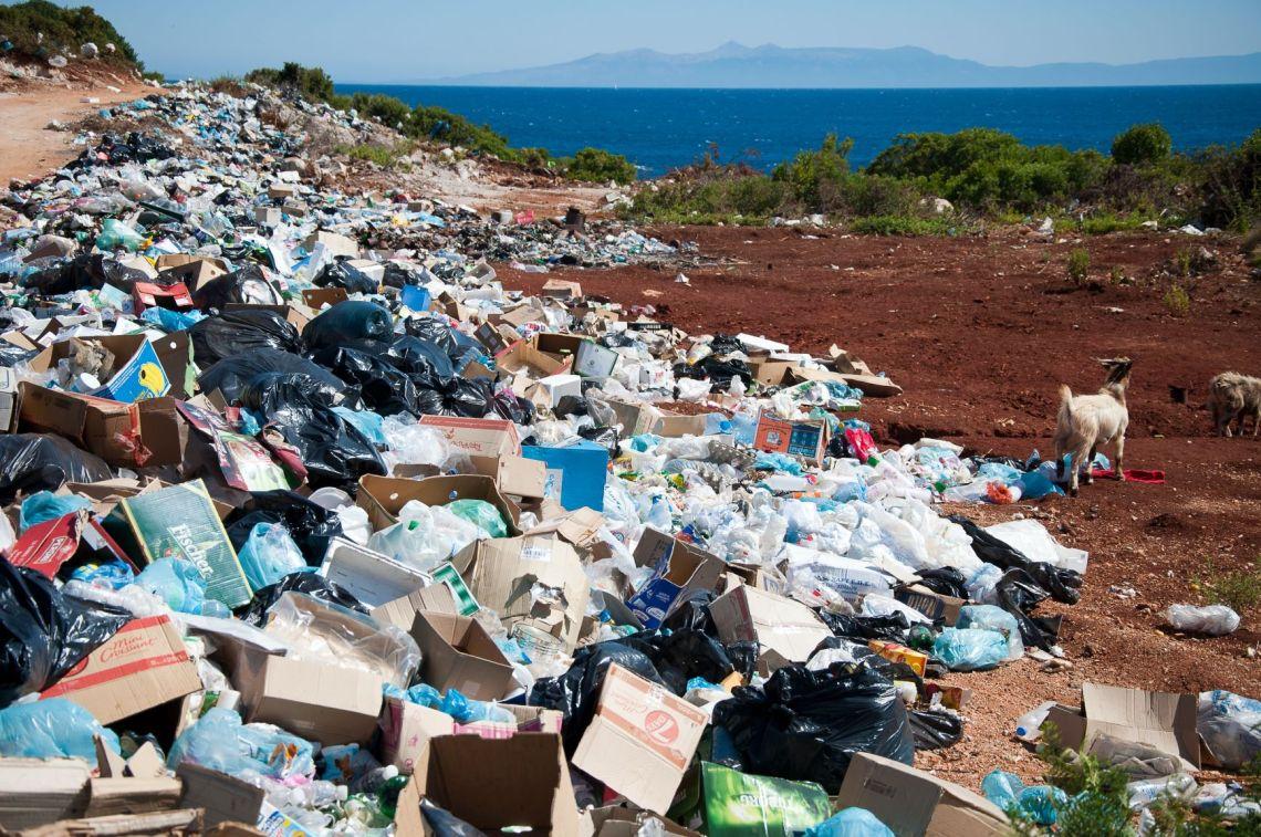Plastic on beach 2