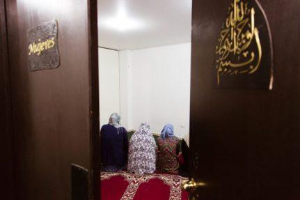 Cuarto de las mujeres, Mezquita de Polanco.