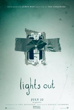 cuando las luces se apagan poster