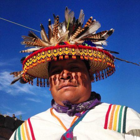 Nieri, un joven huichol, sueña con viajar a la Ciudad de México a tocar en un gran concierto junto con su banda, pero su padre tiene otros planes para él: debe encontrar al Venado Azul en sueños para así seguir la tradición familiar de ser un Mara'akame (chamán huichol). ¿Encontrará Nieri en la gran Ciudad esa visión tan importante?
