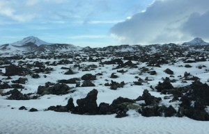moonscape iceland