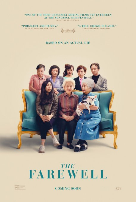 the farewell poster pelicula